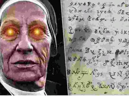 """Demonic letter written by possessed Nun from 1676 Finally translated """"see"""
