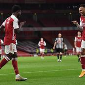 UEFA reacts after Arsenal star beats three other players to win Europa League player of the week