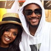 2face Idibia's Wife Stuns In Lovely Tracksuit and Sneakers