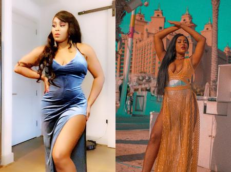 See the beautiful and endowed female singer behind the voice,