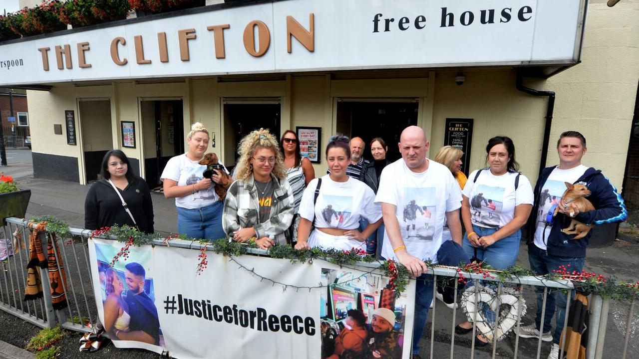 Family and friends of murdered Reece Cox hold tribute walk
