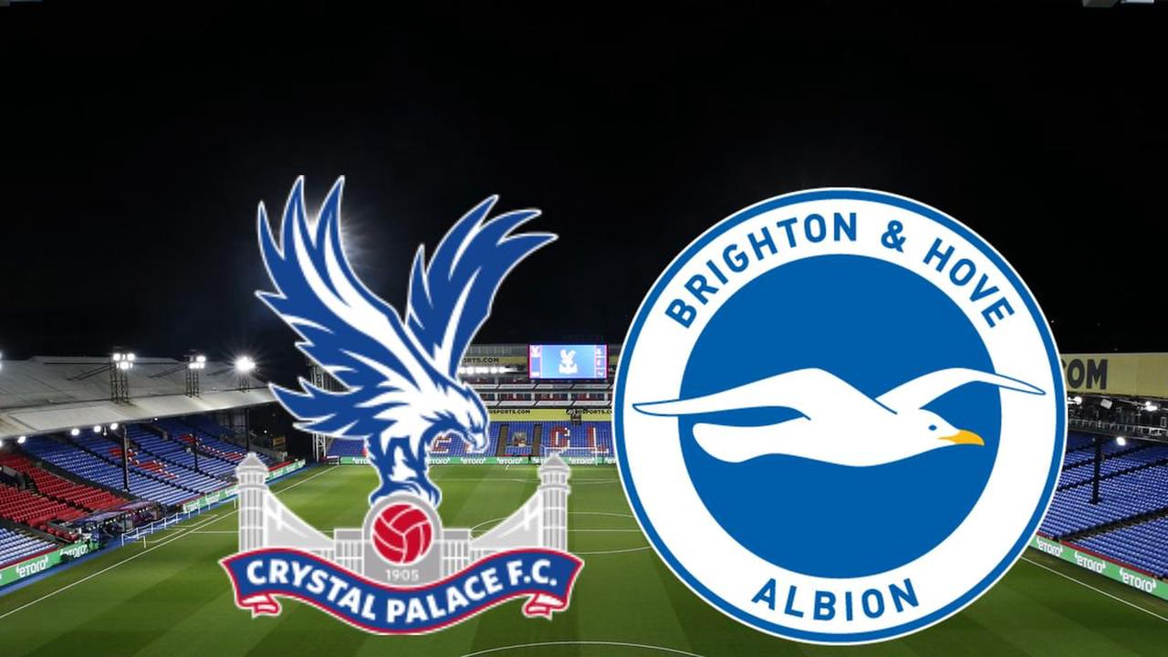 Crystal Palace vs Brighton team news and goal updates from Selhurst Park