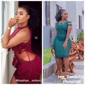 Yaw Dabo's Alleged Girlfriend Confuses Her Fans As She Shows Her Curvy Shapes In New Photos
