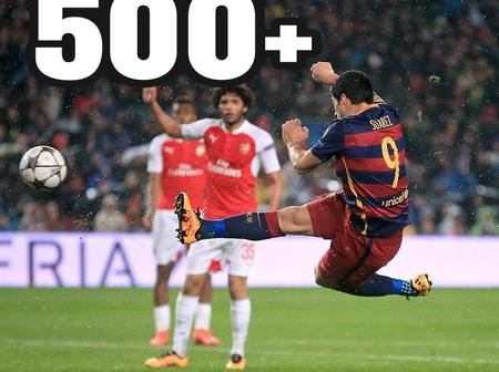 The Only 5 Active Footballers With More Than 500 Goals