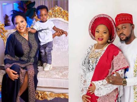 Meet The Yoruba Actress Toyin Abraham, His Handsome Husband And Children