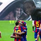After he managed to get a Picture with Messi at the age of 7, Meet the Boy who is now his Teammates