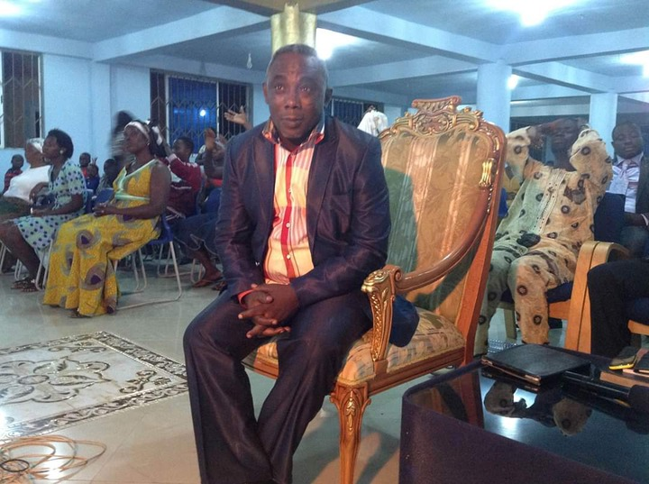 6d648427084381e2a36c13716272b564?quality=uhq&resize=720 - Do you remember the veteran Kumawood actor, Apostle John Prah?  See his current noble looks (Photos)
