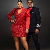 Checkout photos of female celebrities and their hubby slaying in their outfits