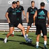 See What Zidane Told His Players Yesterday During Training Ahead Of Liverpool Clash