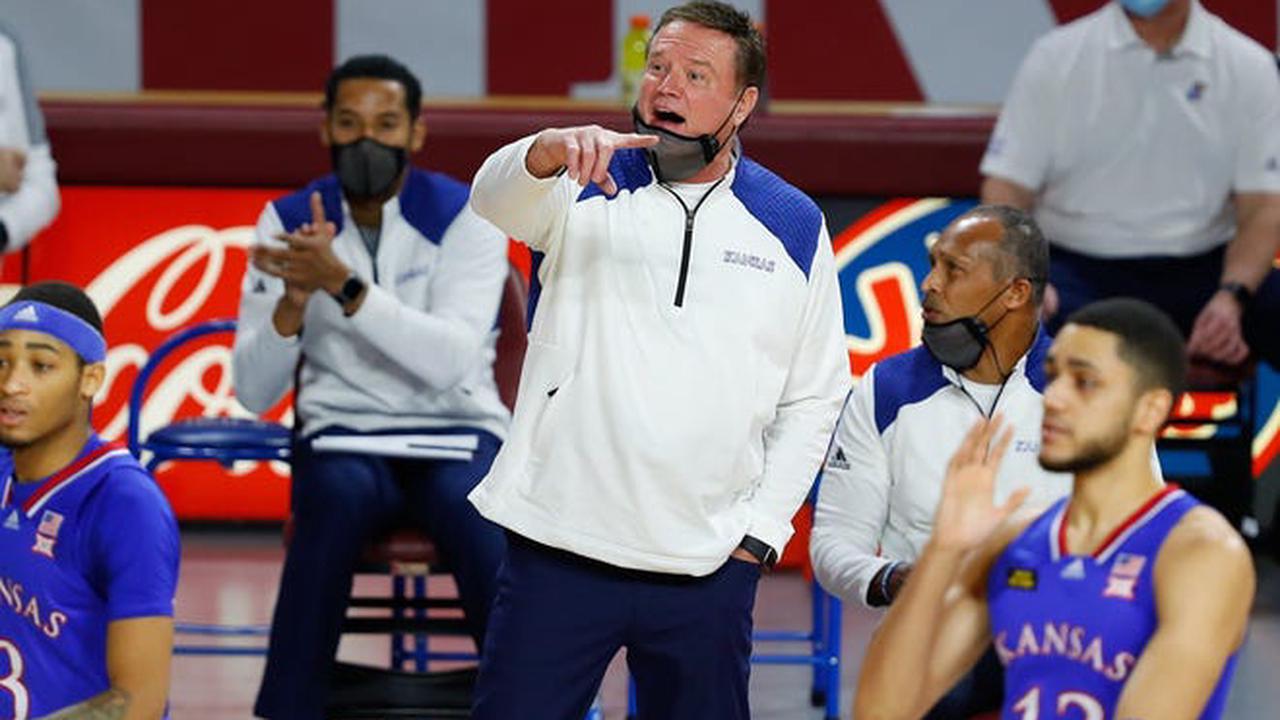 Bill Self on slumping KU basketball: 'We'll become better through this'