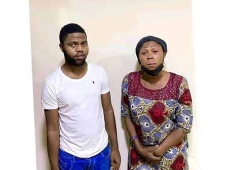 EFCC Has Arrests A Mother and A Son For The Alleged Internet Fraud Of 50 Million.