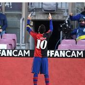 This Is What Messi Did Yesterday That Got Him The Only Yellow Card Of The Game Against Osasuna