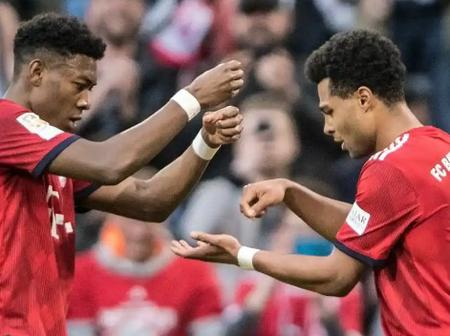 Bayern Star, Serge Gnabry Explains the Cooking Celebration Style He Displays Whenever He Scores
