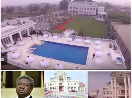 Like a king! See inside of Olu Okeowo's multi-billion naira mansion (Photos)