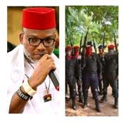 Nnamdi Kanu Credits IPOB's ESN For The Arrest Of A Notorious Fulani Bandit In Benue.