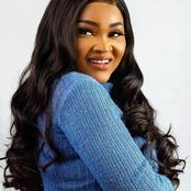 Reactions As Popular Actress, Mercy Aigbe, Visits A Dentist
