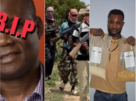 Today's Headlines: Another Prominent Nigerian Dies, Bandits Invade Kaduna Village, Kill Five