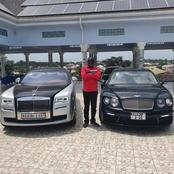 Meet the millionaire Dr Asiedu, the man of the moment at Assin Fosu with his 2021 Rolls Royce