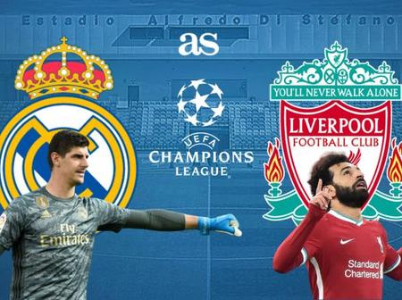 Real Madrid vs Liverpool FC The clash of two champions.