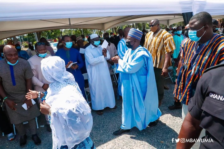 6dae7a2170f7ad7bf67f75271bee9de2?quality=uhq&resize=720 - Video Of Dr. Bawumia And his Bodyguards Arrival At Popular NPP's Zongo Chief Funeral that everybody is talking about