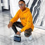 Fans notice Lasizwe's caption doesn't go with his pictures. Here's his response
