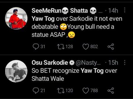 Netizens Hail Yaw Tog For His Recent BET Recognition