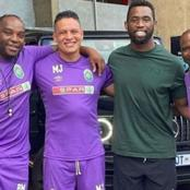 Legends and heroes-AmaZulu coaches meet up with local sporting great