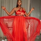 L'actrice Marème (maîtresse d'un homme marié) ébloui ses fans avec une superbe robe