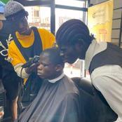 Dougoutigui et son frère chez le coiffeur : ce que les internautes ont vite remarqué