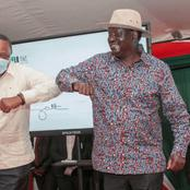 Raila Odinga and President Uhuru to smile after this good news are delivered from coast region