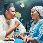 Lovely Photos Of Actress Aishatul Humaira With Sadiq Sani, Ali Nuhu And Other Actors