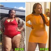 Pretty Lady's Before And After Pictures Sparked Reactions on Online