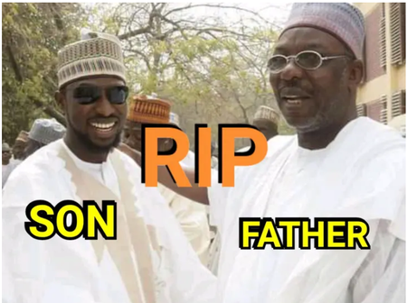 Nigerian Top Politician And His Son Die Yesterday, See What Happen To Them