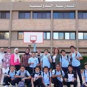 صور| نجل الشهيد المنسي في أول يوم بالمدرسة الدولية .. ماذا حدث؟