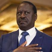 Details of a Trending Hashtag Against ODM Leader Raila Odinga