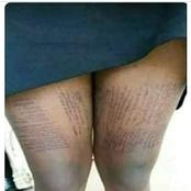 Check out how girls cheat/copy at school Academic dishonesty
