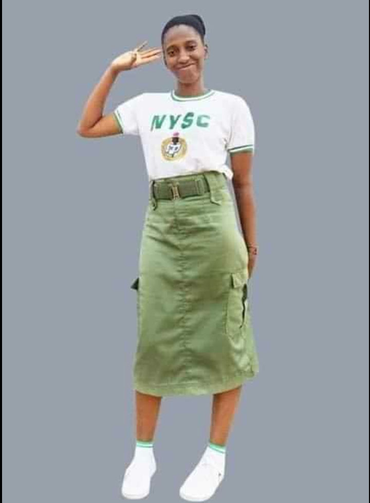 See Photos Of Female Corp Members Who See Trousers As a Sin Wearing Skirts. What's your opinion?