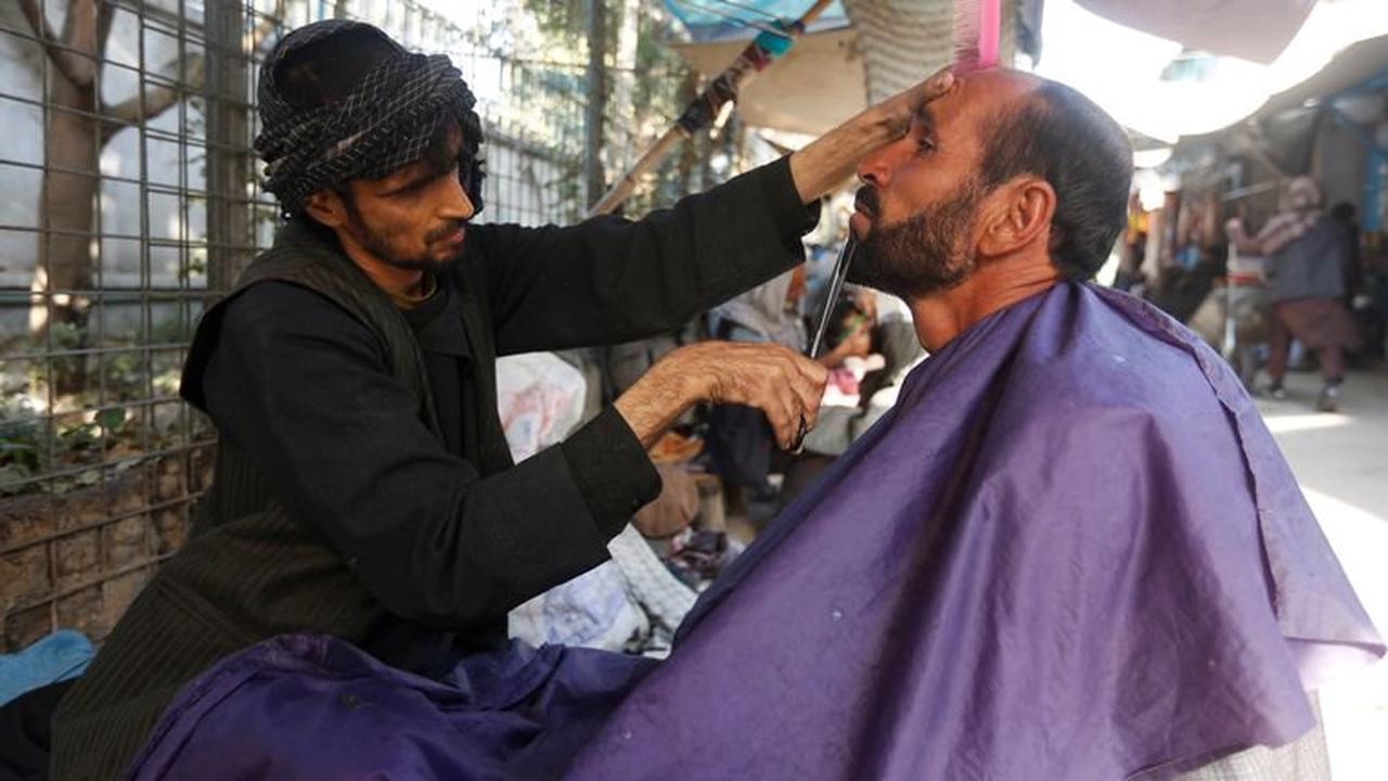 Taliban outlaws barbers in Afghanistan's Helmand province from shaving or trimming beards