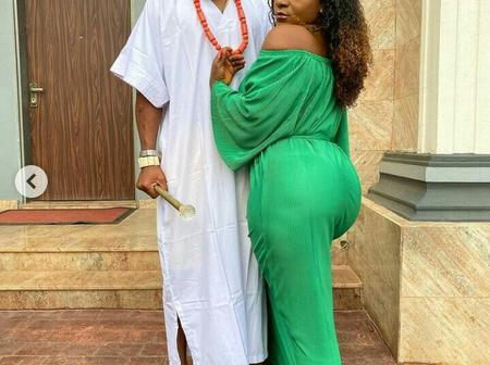 Charles Okocha Shares Stunning Photos With Nigerian Actress, Destiny Etiko On Instagram