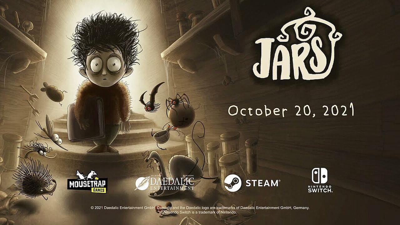 Jars: Burtoneskes Strategie-Puzzle- & Tower Defense - Spiel erscheint am 20. Oktober