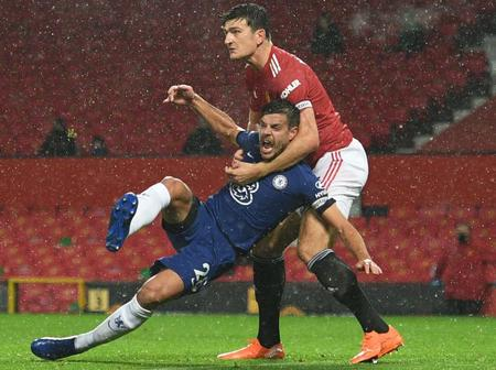 Opinion: Two Good Reason Why Harry Maguire Should Quit Football And Join Wrestling (Photos)
