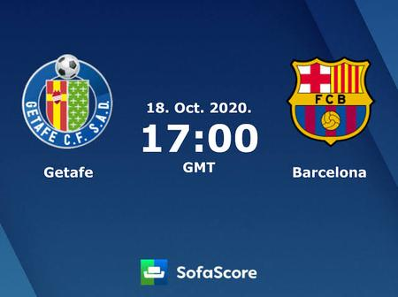La Liga: Barca Face Getafe Away On Saturday, A Traditionally Difficult Fixture And Tough Test.