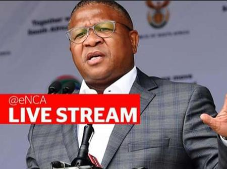 BREAKING NEWS: Fikile MBALULA announces Crashes and Fatalities Nationwide, Check out.