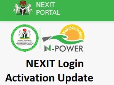NEXIT registration/validation update