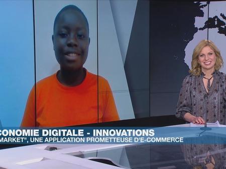 A seulement 15 ans cette ivoirienne crée une application de E-commerce appelé X-market