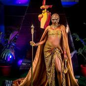 Check Out The African Royalty Outfits Nigerian Celebrities Wore To The Premiere Of Coming 2 America
