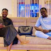 Popular Hausa Actor, Ali Nuhu Pay Courtesy Visits To Football Star, Ahmed Musa At His Residence