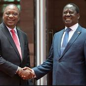 Revealed: Details on Uhuru and Raila 4-hour Meeting in State House