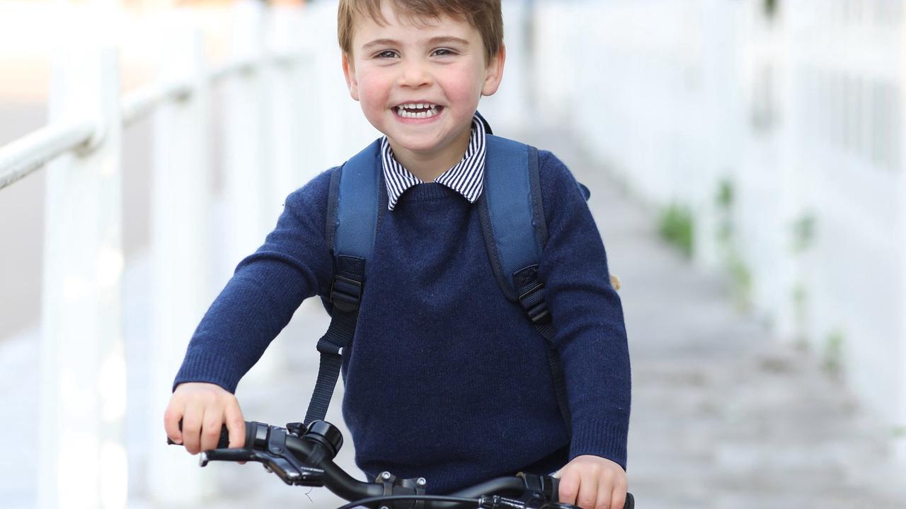 Louis's third birthday marked with picture of young royal on his bike