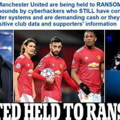 Manchester United in trouble! Club's official system reportedly hacked, millions demanded in ransom